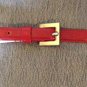 Accessories - NWT Red thin belt